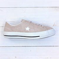 CONVERSE ONE STAR J SUEDE ベージュ