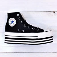 CONVERSE ALL STAR CHUNKYLINE HI ブラック