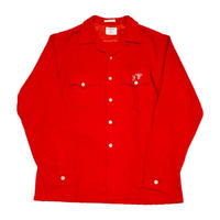 60's Open collarshirt ウールオープンカラーシャツ