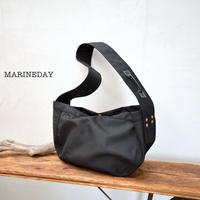 MARINEDAY(マリンデイ)ナイロンショルダーバッグ「ブルーミント」 [BLUE MINT 66BK]