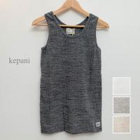 【メンズ】kepani[ケパニ] ラフィストレッチフライス タンクトップ KP9933M