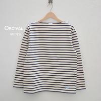 【メンズ】Orcival(オーシバル)コットンロード ボーダー フレンチバスクシャツ  B211-MEN'S