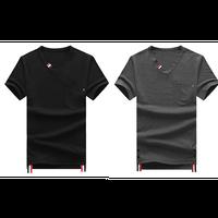 シンプルVネックTシャツ