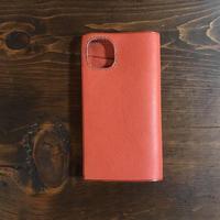iPhone11 Pro 5.8インチ用ケース 手帳型 ピンク
