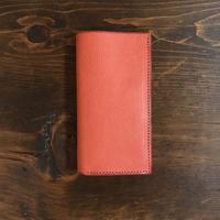 iPhone11 ケース 手帳型 「ピンク」