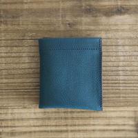 Dew-001 二つ折財布 青色(オルテンシア)