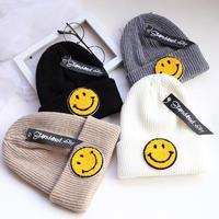 【お取り寄せ販売】kidsニコマークニット帽子