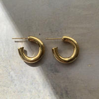 mini hoops -gold-