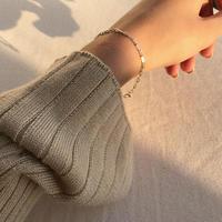 -silver925- chain braceret