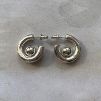 arush hoop pierce -silver-