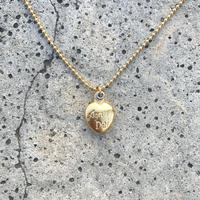 Agnus Dei ball chain necklace (gold)