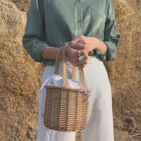 handmade basket bag (medium)