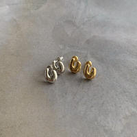 horseshoe pierce -silver-