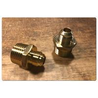 9/16-1/2変換アダプター 2個セット Glacier Bay  タッチ水栓用