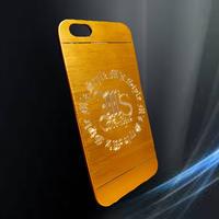 ☆在庫処分☆ アルミ彫刻エムスタiPhoneケース各種 ゴールド