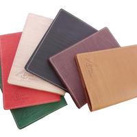 木目調本革ブックカバー S/ Wooden Leather Book Cover S