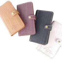 木目調本革 iPhone Case / iPhone ケース