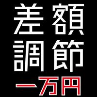 【オプション】差額調節 一万円