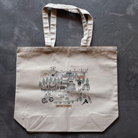 HYTTER PLAY MAP TOTE BAG