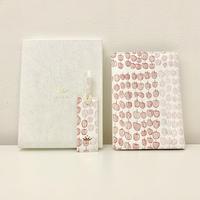 Yukio Watanabe 『りんご』|本革製ブックカバー&しおりセット