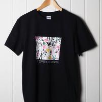 シブヤフォント × REBIRTH PROJECT|shibuya dancing mix|T-shirts