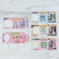 インドのお札風メモ5枚セット
