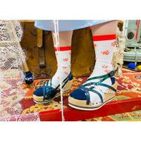 malamute × mum&gypsy 「冬の扉」靴下
