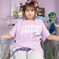 「LAND by MILKBOY ✕ Sumire Sato」コラボTシャツ【LAVENDER DREAMS TEE】