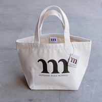 LUNCH BAG M PRINT (ブラック)