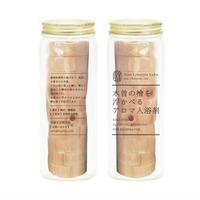 木曽の檜を浮かべるアロマ入浴剤