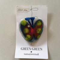 GREEN GREENブローチ(大)C