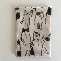 文庫本カバー★まったり猫A