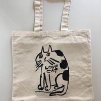 LOVE CAT★コットントートバッグ