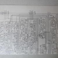 YAESU/八重洲/ヤエス FT-780  CONNECTION  ・MAIN UNIT CIRCUIT ・PLL UNIT CIRCUIT DIAGRAM (回路図)★中古品・貴重品★