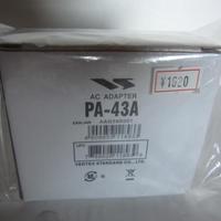 ヤエス PA-43A AC アダプター★新品・店頭展示在庫品★