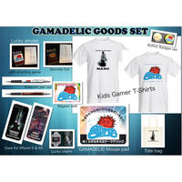 GAMADELIC GOODS SET  << 3 Set Only!  Maro's Music Bar Overseas Open Special Sales! >>
