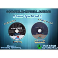 (2CD)  GAMADELIC  Reunion Live at Vuenos 2013.9.7  &  Rebooot!!   <<2CD SET>>