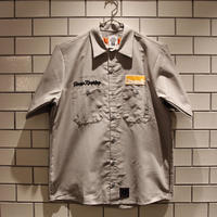M&M-CUSTOM PERFORMANCE   MUSTARD HOTEL HOUSE KEEPING TEAM WORK SHIRT -GRAY-