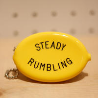 QUIKEY COIN CASE MUSTARD HOTEL 「STEADY RUMBLING」
