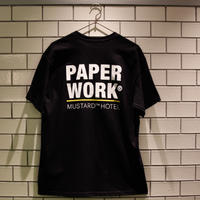 PAPER WORK × MUSTARD HOTEL LIMITED EDITION T-SHIRT