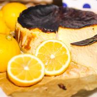 瀬戸内レモンバスクチーズケーキ
