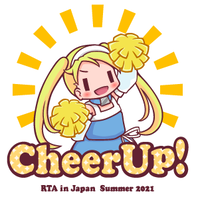 【受注生産】RTA in Japan「CheerUP!!」Tシャツ