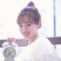 【武藤彩未 Birthday Live ☺︎】音声入り目覚まし時計【チェキ付き】