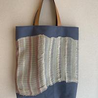 suzuさんのレザーハンドルトートバッグ