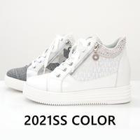 【MUUM】キラキラあしなが美脚スニーカー -78352021SS