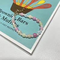 Crystal beads bracelet🔮✨
