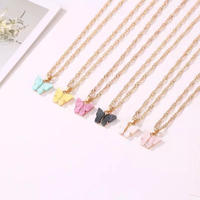 butterfly necklace 🦋②