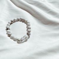 Howlite bracelet ✨