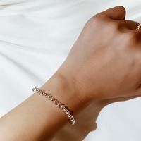 silver simple bracelet 🖤