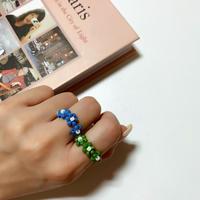 triple  flower ring 🌼🐬❷